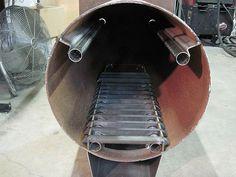 amazing homemade outdoor wood furnace plans wood boiler pinterest