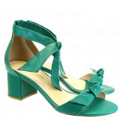 Sandália Laço Verde 694 Armada by Moselle   Moselle sapatos finos femininos! Moselle sua boutique online.