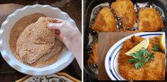 řízky_příprava_triky New Recipes, French Toast, Pork, Food And Drink, Meat, Breakfast, Ethnic Recipes, Kale Stir Fry, Morning Coffee