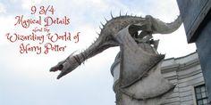 9 3/4 Magical Details of the Wizarding World of Harry Potter    #UniversalOrlando #ReadyforUniversal #FamilyForward