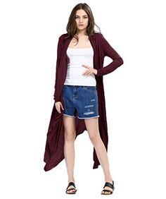 1a98013c4 Blusas Longas das mulheres Sólido Preto Longo Kimono Cardigan Para As Mulheres  Verão Tops Blusas Mujer das Mulheres Chemise Femme Tops camisa(China ...
