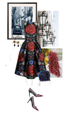 """Ladylike"" by aprisadashka ❤ liked on Polyvore featuring Chi Chi, Tory Burch, L.K.Bennett and Dolce&Gabbana"