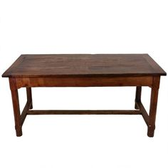 Early 19th Century French Cherry Wood Farm House Table | From a unique collection of antique and modern farm tables at https://www.1stdibs.com/furniture/tables/farm-tables/