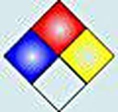 Science Laboratory Safety Signs: Chemistry Hazard Label