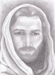 Pencil Drawing of Jesus by J.D.