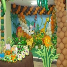 Spectacular Jungle Party Theme