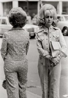 The bigger the hair, the closer to God. Louis Stettner, Women from Texas, 1976