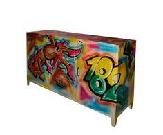 dressoirkast graffity