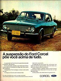 Anúncio Ford Corcel - 1970