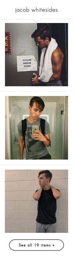 """jacob whitesides"" by staticpalms ❤ liked on Polyvore featuring jacob whitesides"