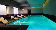 Spa de luxe proche de Paris en bord de Seine, avec piscine intérieure, hammam & solarium. Carte des soins Carita et Cinq Mondes, invitations cadeaux. Spaquana