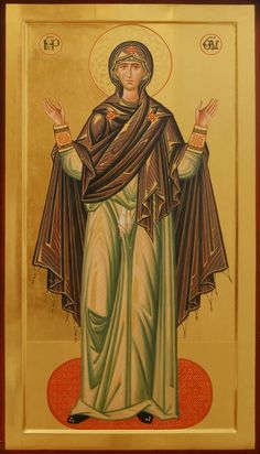 """Mother of God """"Unbreakable Wall"""" +++ Божия Матерь - Нерушимая стена Byzantine Icons, Byzantine Art, Religious Icons, Religious Art, Church Icon, Images Of Mary, Christian Artwork, Christian Religions, Blessed Virgin Mary"""