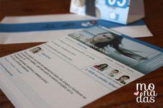 Invitación Facebook para Quince años! #invitacion #ideas #quinceaños http://www.monadaseventos.com.ar/invitacion-facebook/