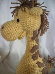 Girard the Giraffe - Amigurumi Pattern | Craftsy