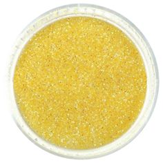 """.004"""" Extra Fine Glitter Powder – Sunset Yellow Glitter  #iridescent #glitter #powder #glitties Extra Fine Glitter, Cosmetic Grade Glitter, Yellow Glitter, Beautiful Nail Art, All That Glitters, Arts And Crafts Projects, Powder, Solar Power, Iridescent"""
