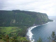 Waipio Valley Overlook, the big island, Hawaii