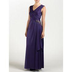 Buy Ariella Natalia Dress, Purple Online at johnlewis.com