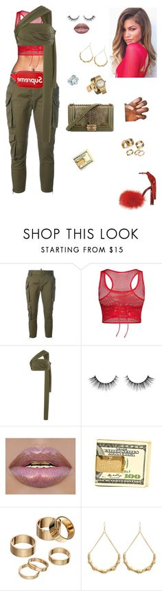"""I'll fight for him❗️"" by styledbystaes ❤ liked on Polyvore featuring Dsquared2, Louis Vuitton, Baja East, Chanel, Apt. 9, Hermès and Audemars Piguet"
