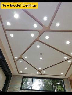 House Roof Design, House Ceiling Design, Ceiling Design Living Room, False Ceiling Living Room, Ceiling Light Design, Home Ceiling, Modern Ceiling, Ceiling Decor, Drawing Room Ceiling Design
