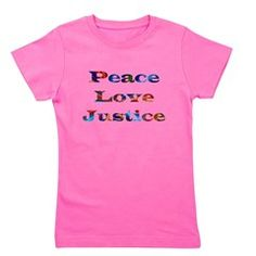 Repin to show your friends. Share the gift of Peace, Love & Justice with this inspiring christian t-shirt. Click VISIT to view more, add us and get inspired to walk on water at DivineInspirationsGalore.