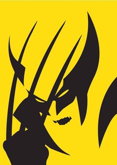 Minimalist Two Color Tone Posters Depicting Superheroes