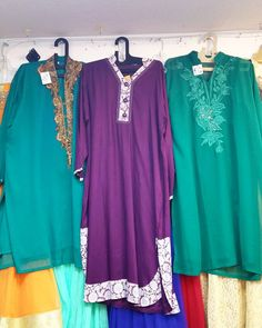 Fancy #desiwear Kurtis  size 48 on sale at Bibis Fashion for $35 to $4.  #indianwear for casual and parties.