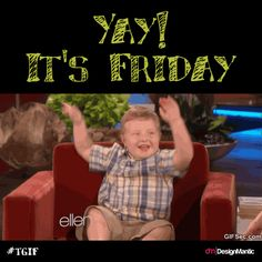 It's Friday Peeps! Are you ready for it? ;)