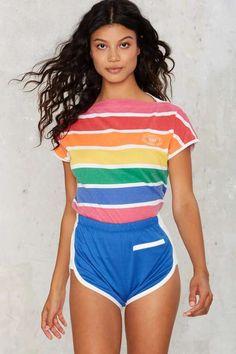 Vintage Levi's Rainbow Tight Knit Tee
