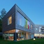 This Home In Sweden Has A Transparent Ground Floor And A Green Roof