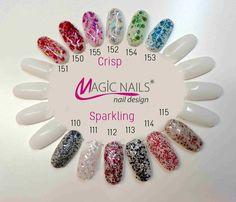 UV gel Crisp Red - 5 ml | Magic Nails gelové nehty