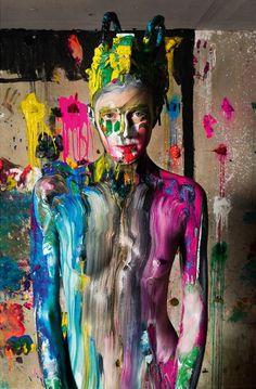 Risultati immagini per fashion photography colour splash