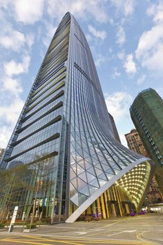 KK100, TFP Farrells, Shenzhen, China, mixed-use, tower, high-rise, slender silhouette, dense development, Shenzhen master plan