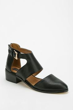 Deena & Ozzy Cutout Buckle Boot - Urban Outfitters