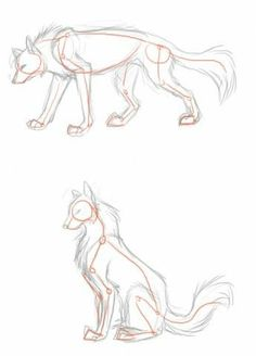 Trendy drawing wolf poses ideas - Drawing Still 2020 Animal Sketches, Art Drawings Sketches, Animal Drawings, Drawing Animals, Cute Wolf Drawings, Horse Drawings, Pencil Drawings, Drawing Techniques, Drawing Tips