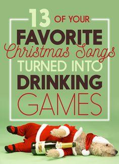 Drinkin' around the Christmas Tree…