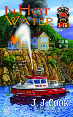 In Hot Water - Book #3 of the National Bestselling Sweet Pepper Fire Brigade Mysteries - coming January 2015 from J J Cook and Berkley Prime Crime