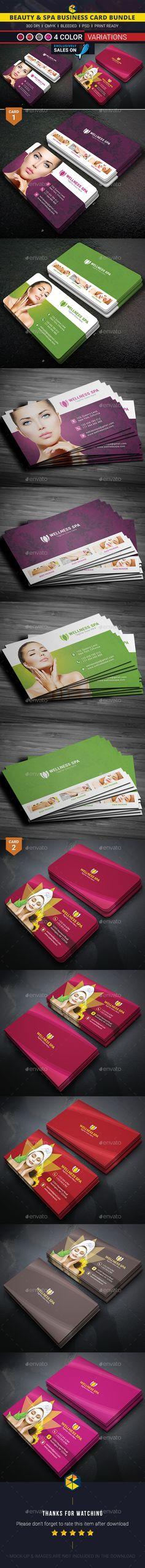 Beauty & Spa Business Card Bundle