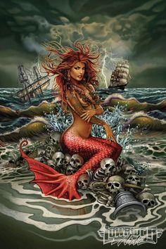 Rick Rietveld Featured Artist Mermaid Art 04: