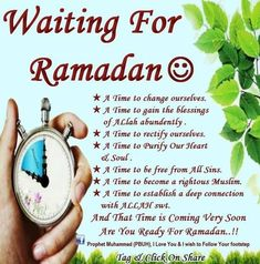 Subhan'Allah, I just realized, today is 3rd of Rajab. After Rajab comes Sha'ban and after it comes Ramadan. Subhan'Allah how this year went so fast! May Allah help us reach Ramadan with good heath and Eman.