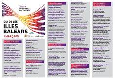 Mañana es el Día de Balears. Consulta el calendario de eventos en Ibiza Tomorow, the Day of the Balears. Activities program in Ibiza