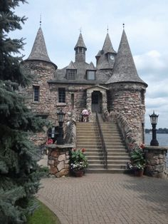 Boltd Castle On Hart Island 1000 Islands New York Ny Pinterest Castles And Road Trips