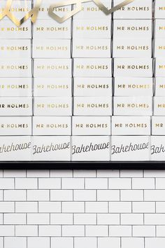 A tour of Mr. Holmes Bakehouse and their famous cruffins! Food Packaging, Packaging Design, Mr Holmes Bakehouse, Store Interiors, Bakery, Sugar, Mood, Croissant, Studio