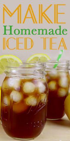 #HowTo: Make Homemade Iced Tea