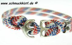 Männerarmband Seil von www.Schmuckkistl.de auf DaWanda
