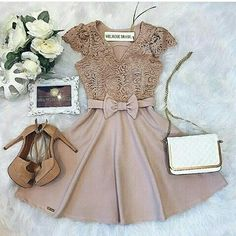 Unique prom dresses with hottest - Fashion Casual Dresses, Short Dresses, Fashion Dresses, Girls Dresses, Pretty Dresses, Beautiful Dresses, Trendy Outfits, Cute Outfits, Mein Style