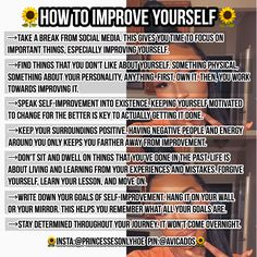 Follow me on Pinterest @Essenceofcurls for more poppin pins Girl Tips, Best Self, Self Esteem, Body Care, Girl Life Hacks, Girls Life, Take Care Of Yourself, Improve Yourself, Glo Up