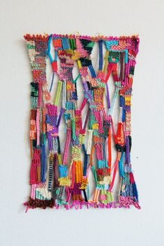 Alicia Scardetta | Weaving--I checked out her website, fun!