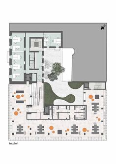 Dolce & Gabbana Headquarters / Studio Piuarch / Showroom Plan