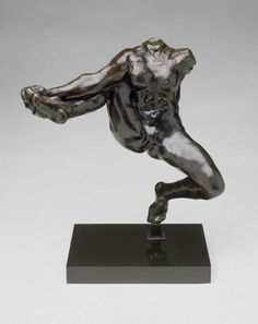 Iris, Messenger of the Gods - Auguste Rodin.  Amazing piece of work!