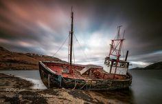 Ardgour Shipwreck by daveholder. Please Like http://fb.me/go4photos and Follow @go4fotos Thank You. :-)